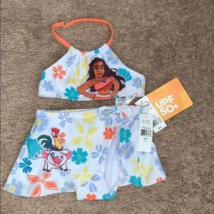 Girls NWT Moana 2 piece